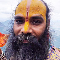 Krishna monk