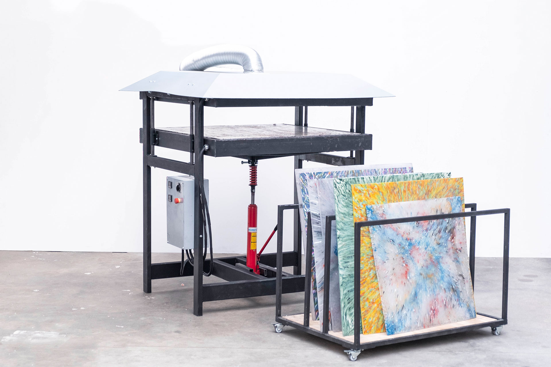 Sheetpress machine and sheets