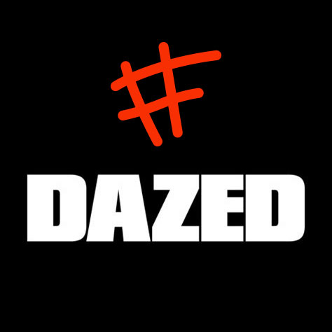 Graphic showing dazed and Fixing Fashion logo