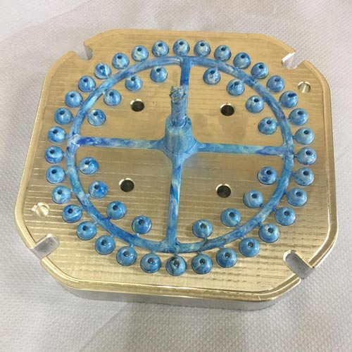 Worry bead mould for recycled plastic