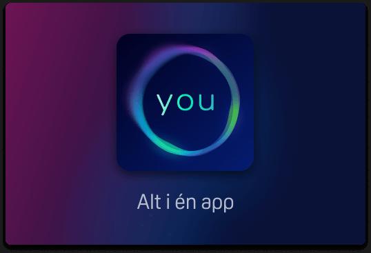 Alle dine tv-kanaler og streamingtjenester samlet i én app