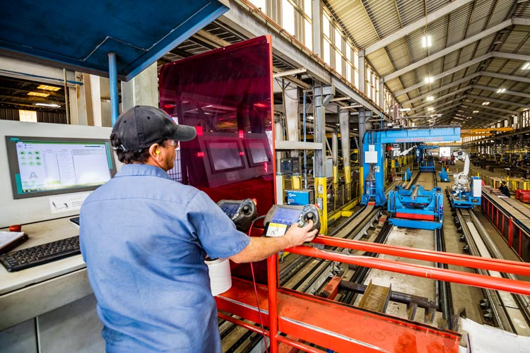 Steel Fabrication Automation