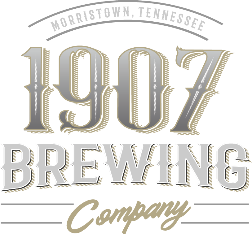 1907 Brewing Company, established in 2019, is Morristown's first taproom and brewery. We welcome you to enjoy some of the best craft beers, ciders, and sodas our area has to offer. 1907 Brewing Company also has options to take your favorite brew home to enjoy – fill up a growler or visit our cooler to grab a six-pack to-go. We are not far from sevierville TN, which is the entry way to pigeon forge and Gatlinburg tn, Home of the gate to the smoky mountains