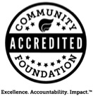 community foundation accreditation seal