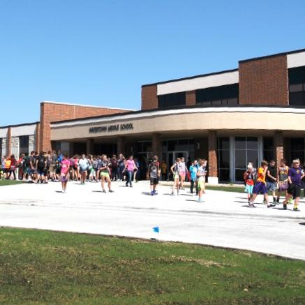 watertown school entrance