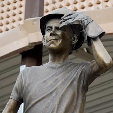 statue of worker