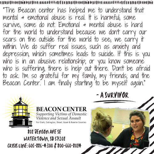 thank you message from beacon center