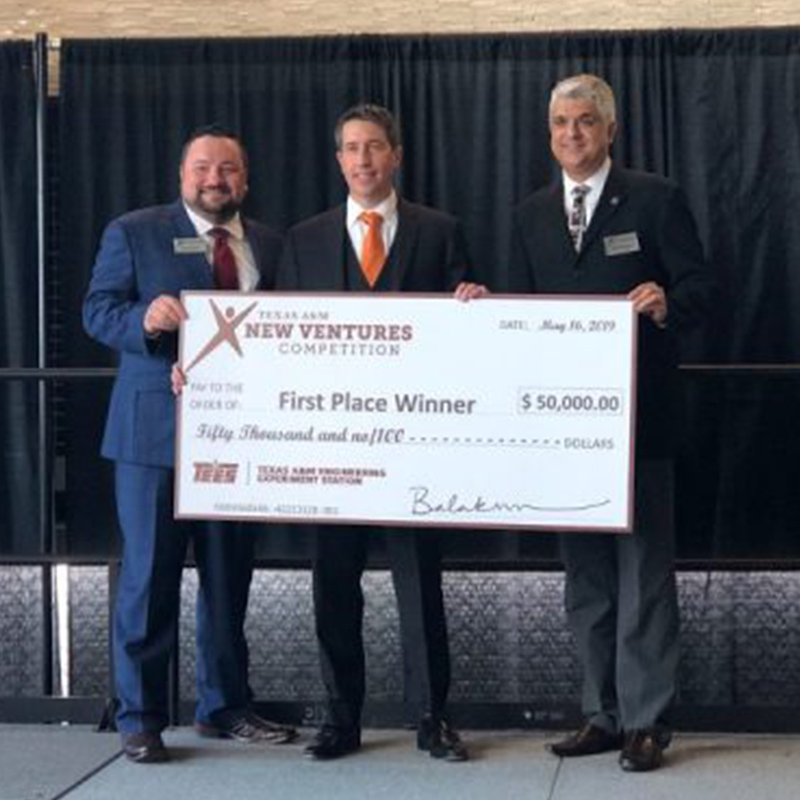 Texas A&M alumnus' biomedical company wins 2019 Texas A&M New Ventures Competition