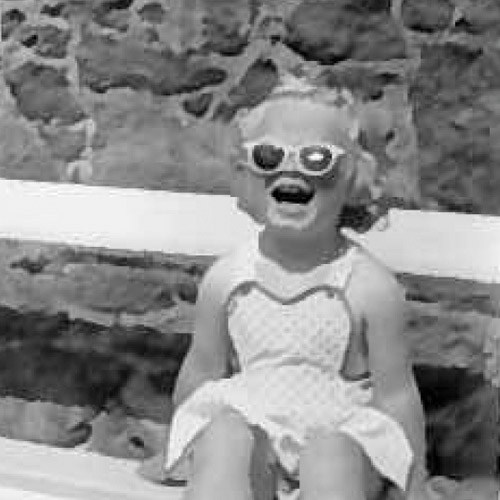 Sue Robb childhood photo