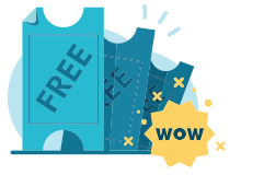 Free coupon vector