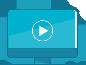 Blue screen icon