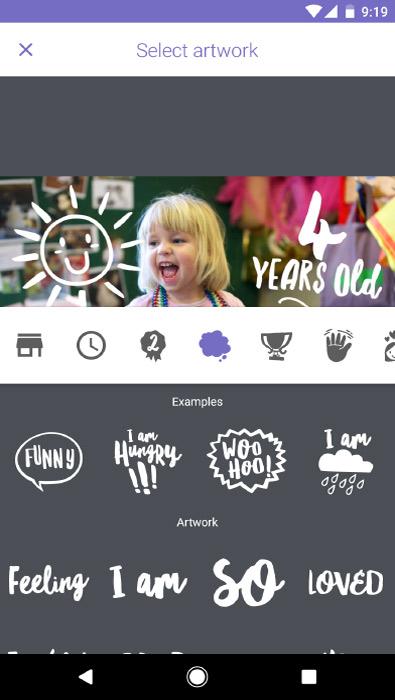 Storypark app screenshot