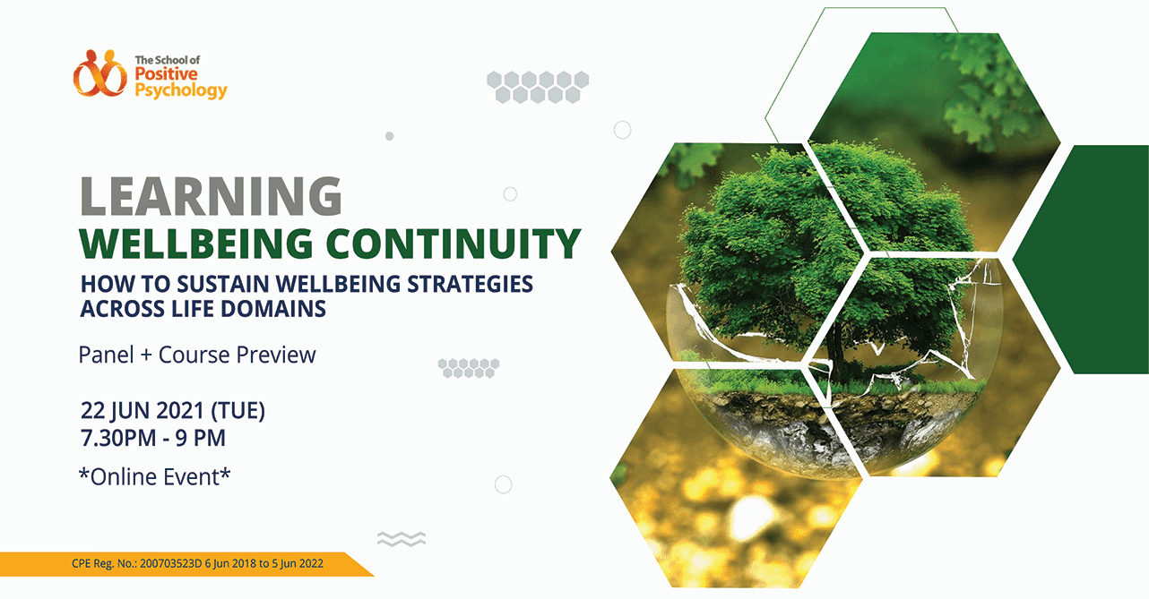 Learning Wellbeing Continuity: Panel + Course Preview