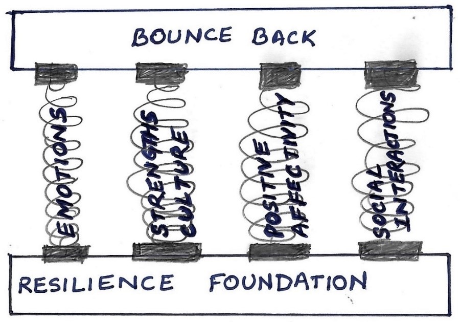 Figure 2. Proposal: Part I – Resilience foundation: A springboard mechanism for mutual well-being
