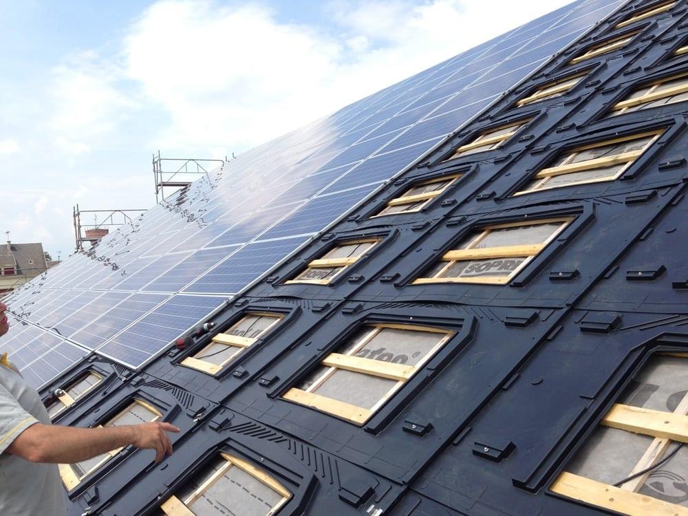 GSE In-Roof Integration System for Solar Panels   0Bills.com
