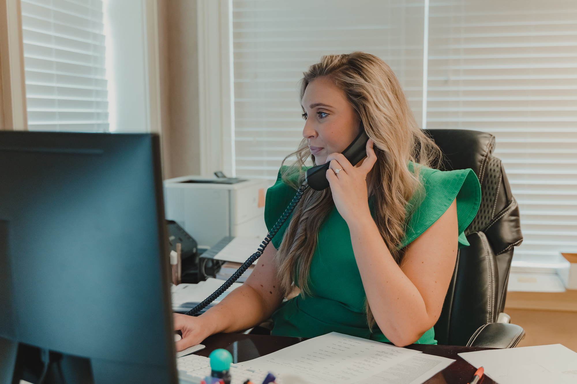 an accountant Working at Whitlock Accounting Services in Pigeon Forge Tennessee