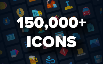 150,000+ Icons Image
