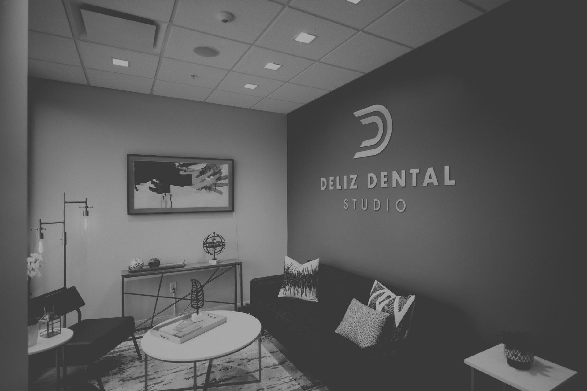 Photo of the Deliz Dental Studio lobby
