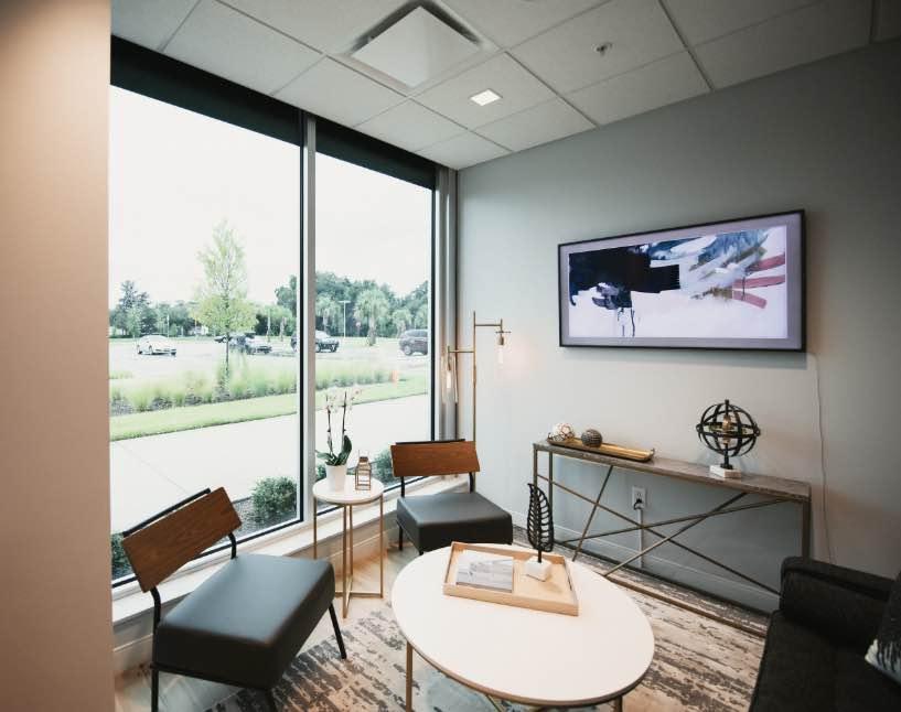 Photo of the practice lobby