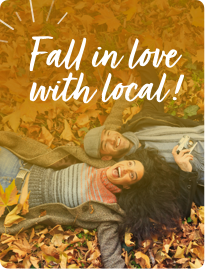 Fanbank theme Fall in Love with Local