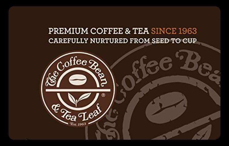 Coffee Bean gift card