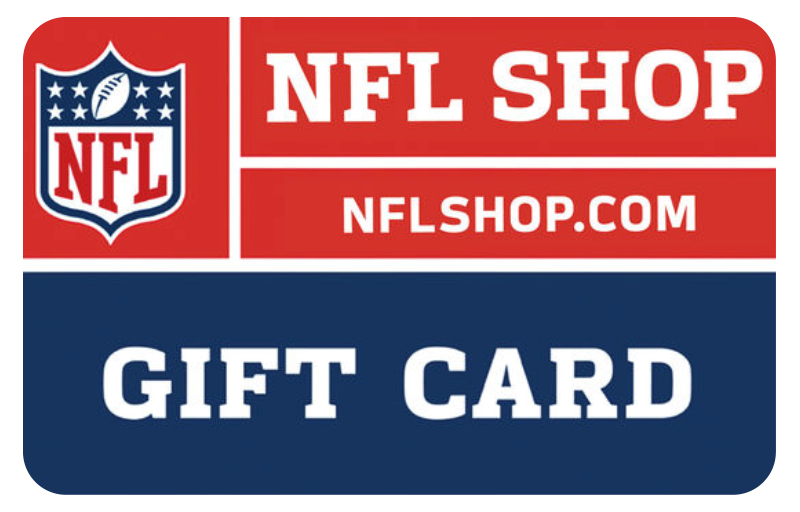 NFL Shop gift card