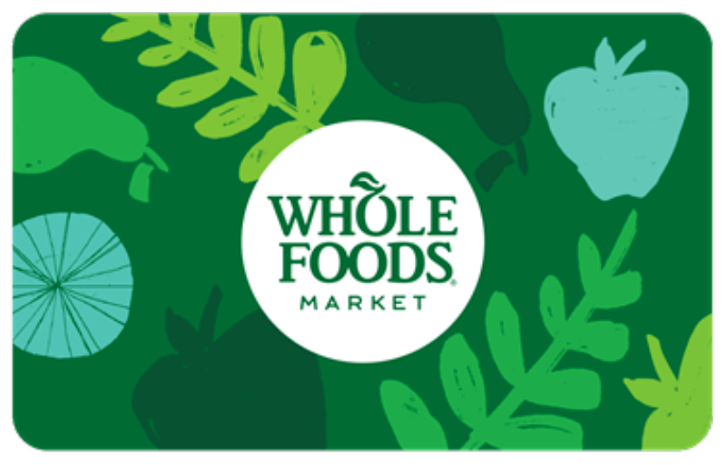 Whole Foods gift card
