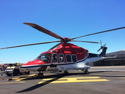 Lobo and CHC enter into a new lease agreement for Leonardo AW139