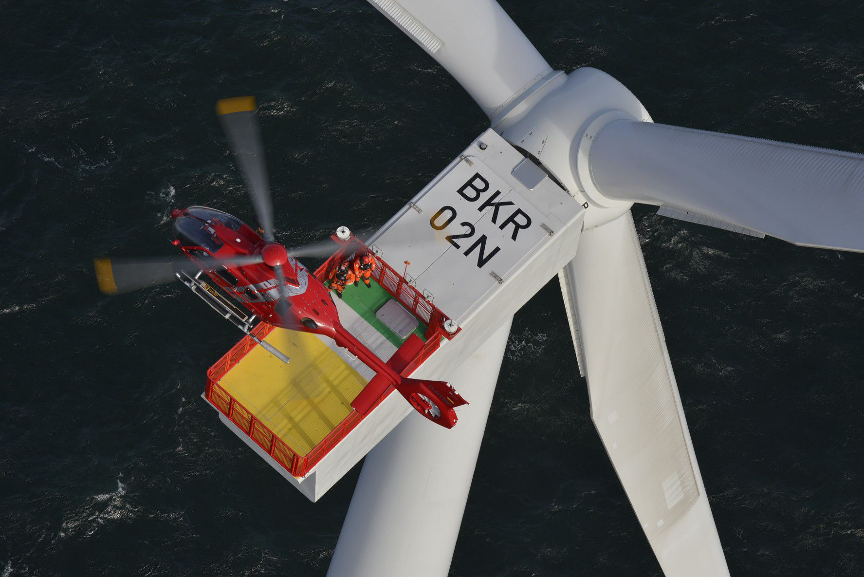The energy mission-type usually includes the requirement to fly offshore and this drives the requirement for safety equipment such as floats, life rafts and push-out windows.