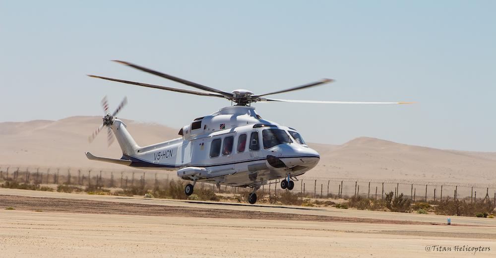 Lobo and Titan enter into lease agreement for Leonardo AW139