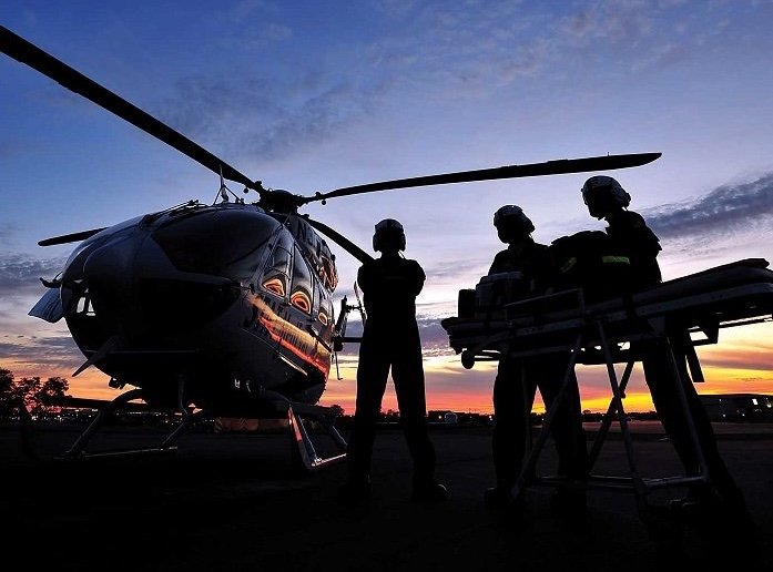 Emergency medical service (EMS) helicopters must be capable of landing in tight spaces while also having extensive range. EMS helicopters also need to be able to carry specialised medical equipment and medical professionals.