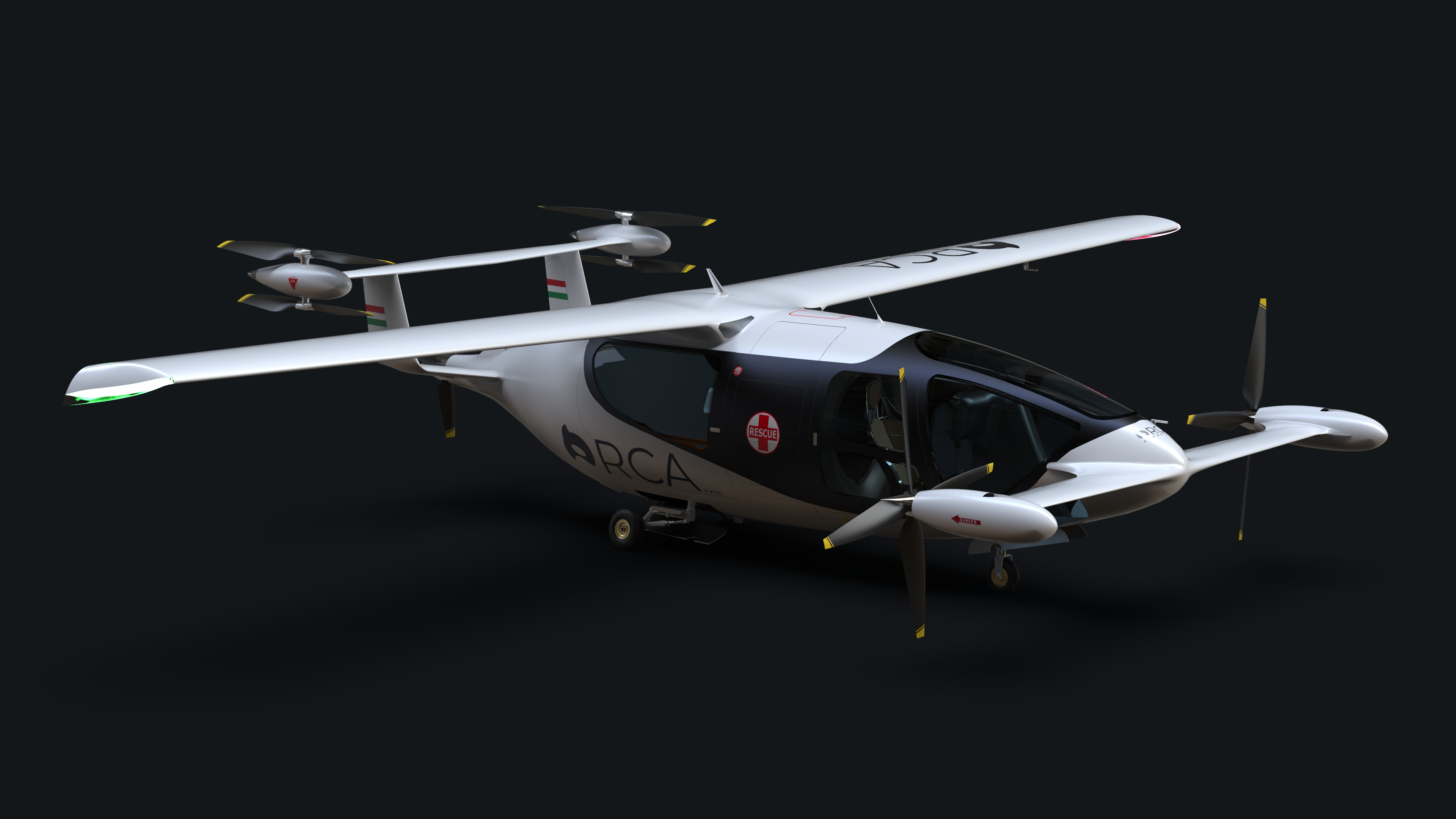Lobo Leasing and Orca Aerospace sign MOU to develop Orca eVTOL aircraft