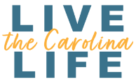 Live the Carolina Life logo.
