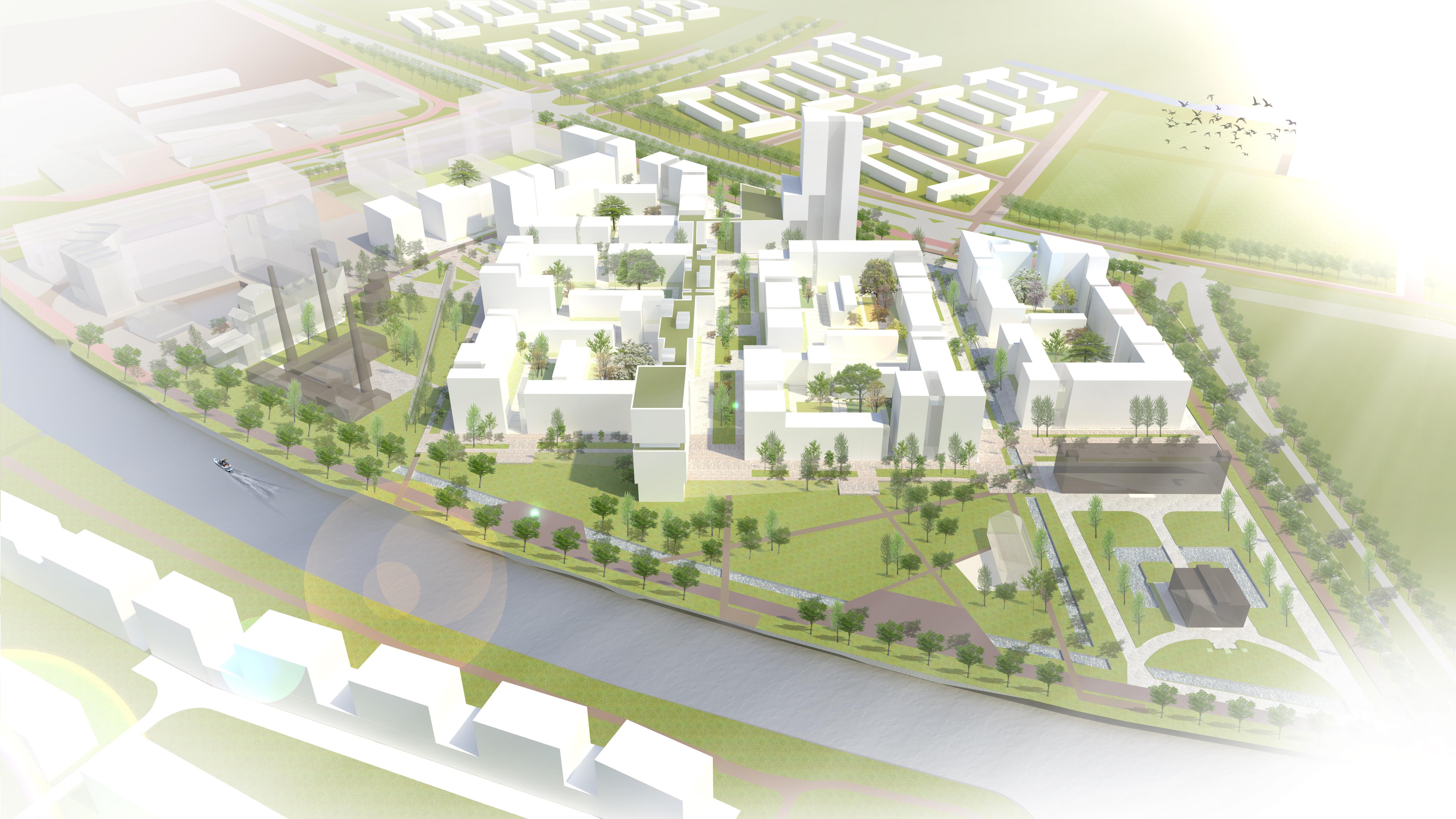 SVP_Voormalig_defensieterein_de_nieuwe_defensie_Utrecht_School_vogelvlucht_stedenbouwkundig_plan