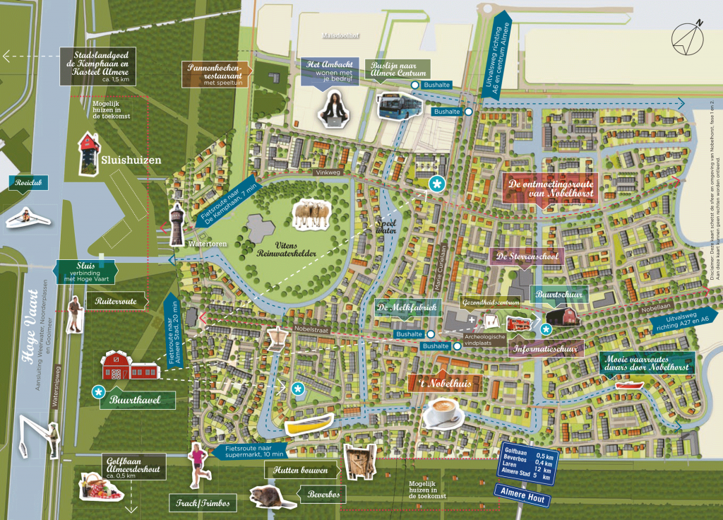 SVP_Nobelhorst_Almere_stedenbouwkundig_plan_plankaart