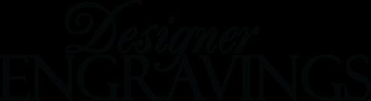 Designer Engravings logo black