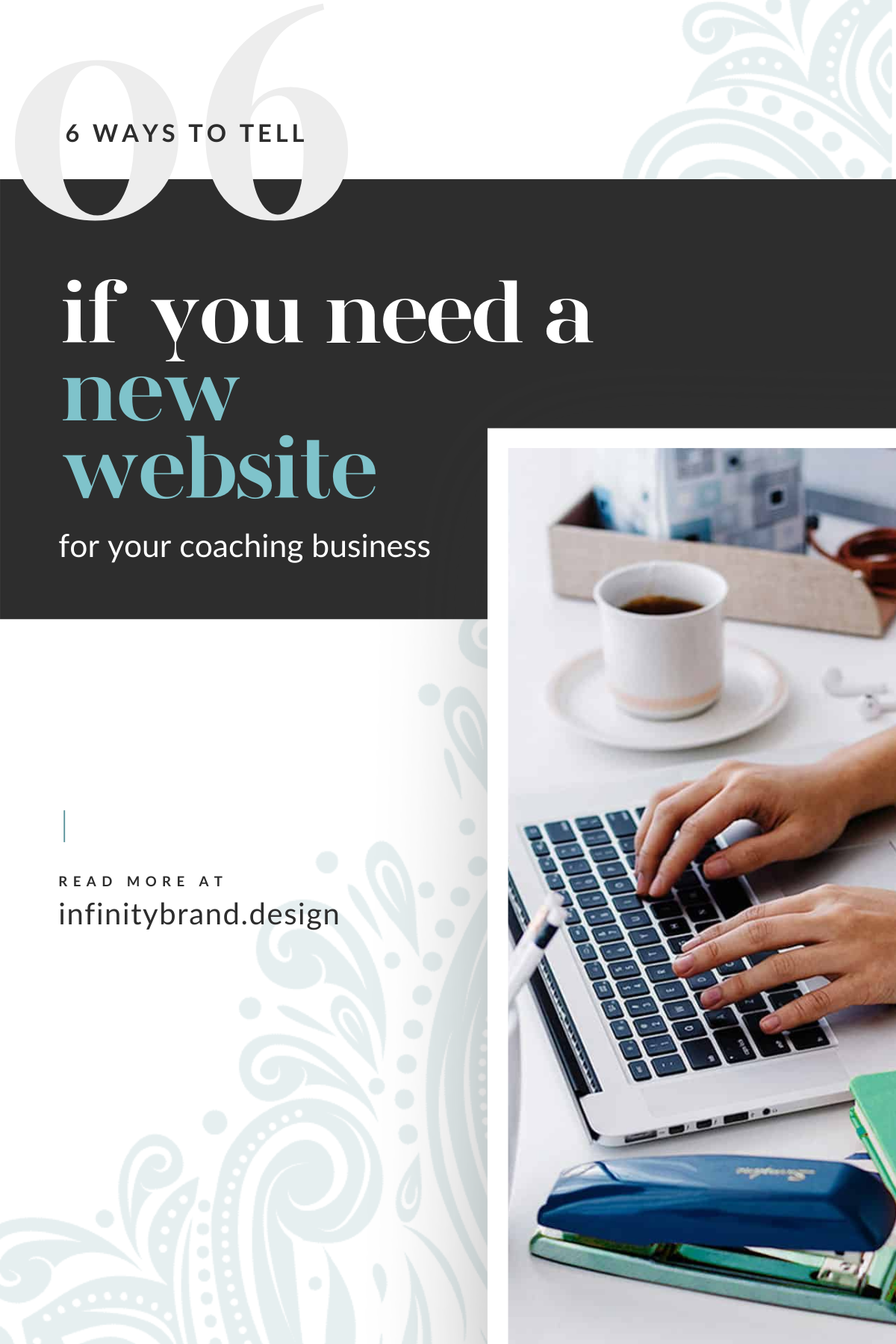 These coaching website tips will help you gauge if your site is performing optimally or if it's time to invest in your business with a new website. Your website is the most powerful marketing piece you can have for your coaching business. It plays a vital role in whether clients book your services or buy your online course. This valuable piece of marketing is a living document that needs to be maintained to ensure it's helping, not hindering, your coaching business. If your website isn't pulling its weight, you're leaving money on the table.