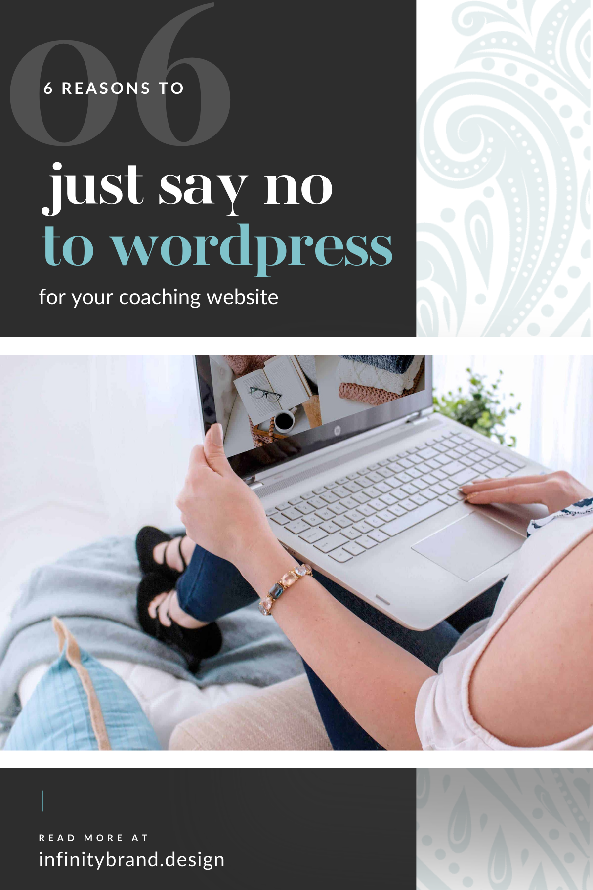 Your time is precious and you have no time to spare for your website tech issues. That's why I'm breaking down why WordPress isn't the best option for your coaching website.