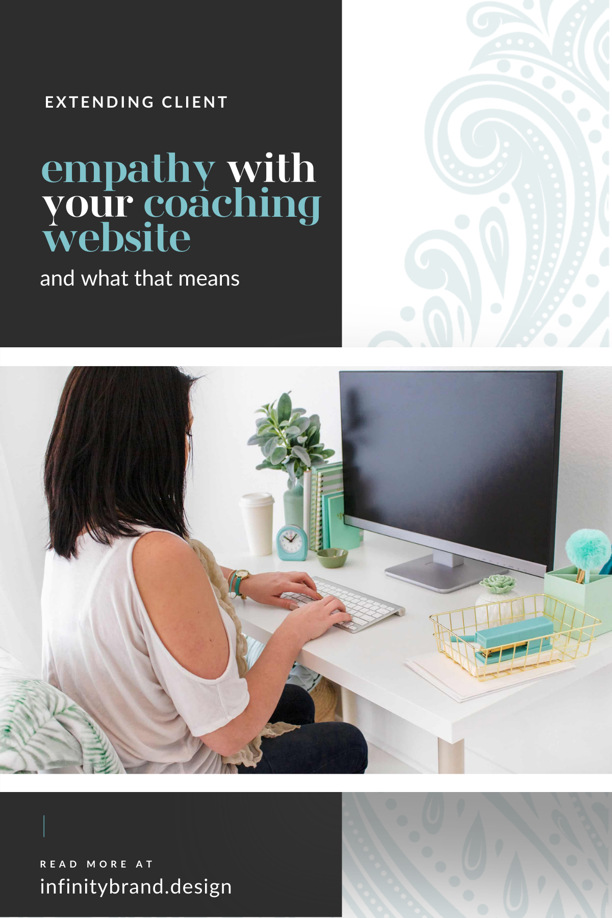 As a coach, you are a catalyst of change for your coaching clients, guiding them through positive transformations. Your methods likely include utilizing empathy to gain all kinds of insight into your client to help guide them toward their metamorphosis. But did you know that you can extend empathy for your clients even further into your brand and your website?