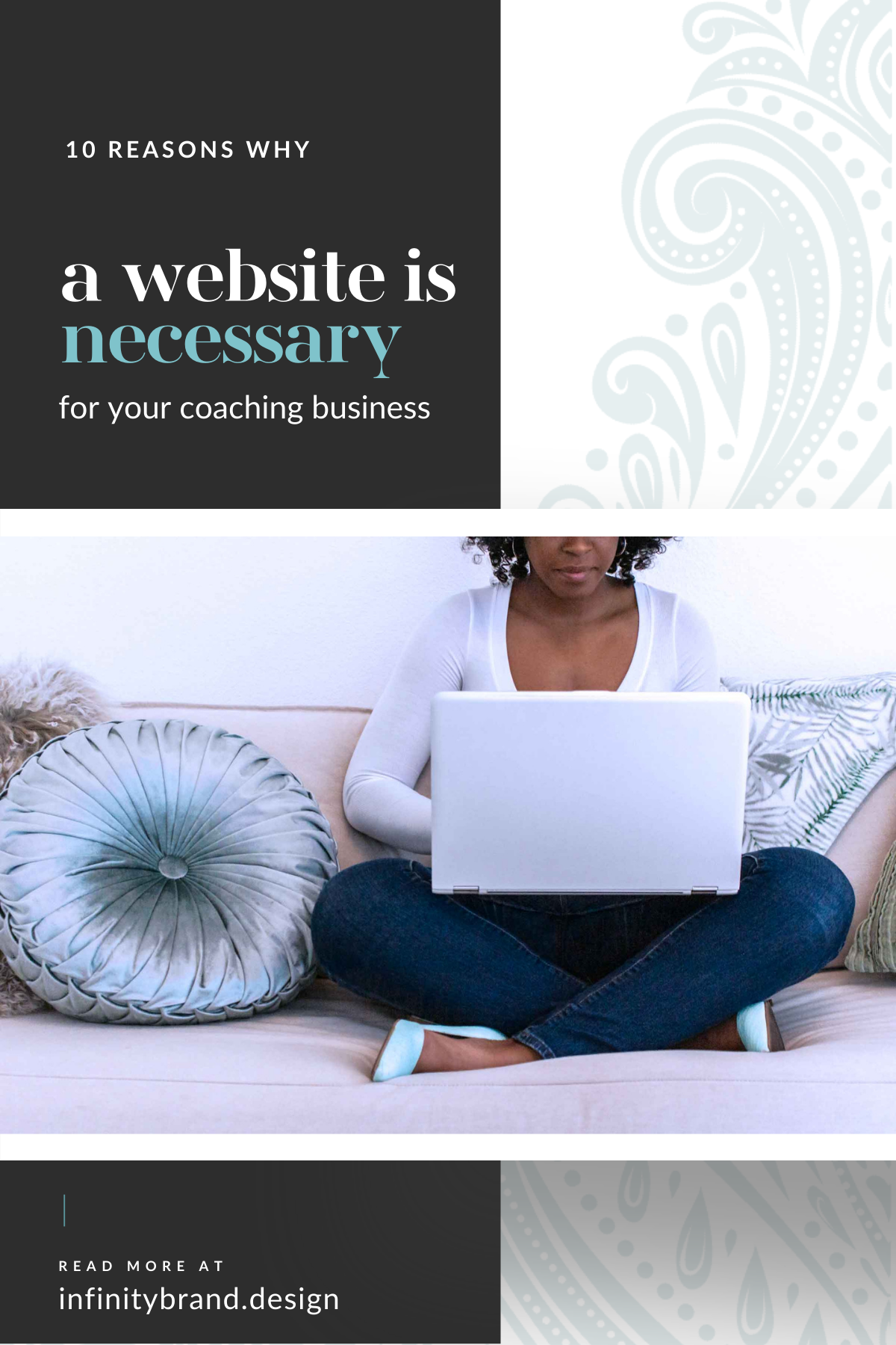 Your website is the most valuable marketing asset your coaching business can have and is the key to more clients, more time, and more money.
