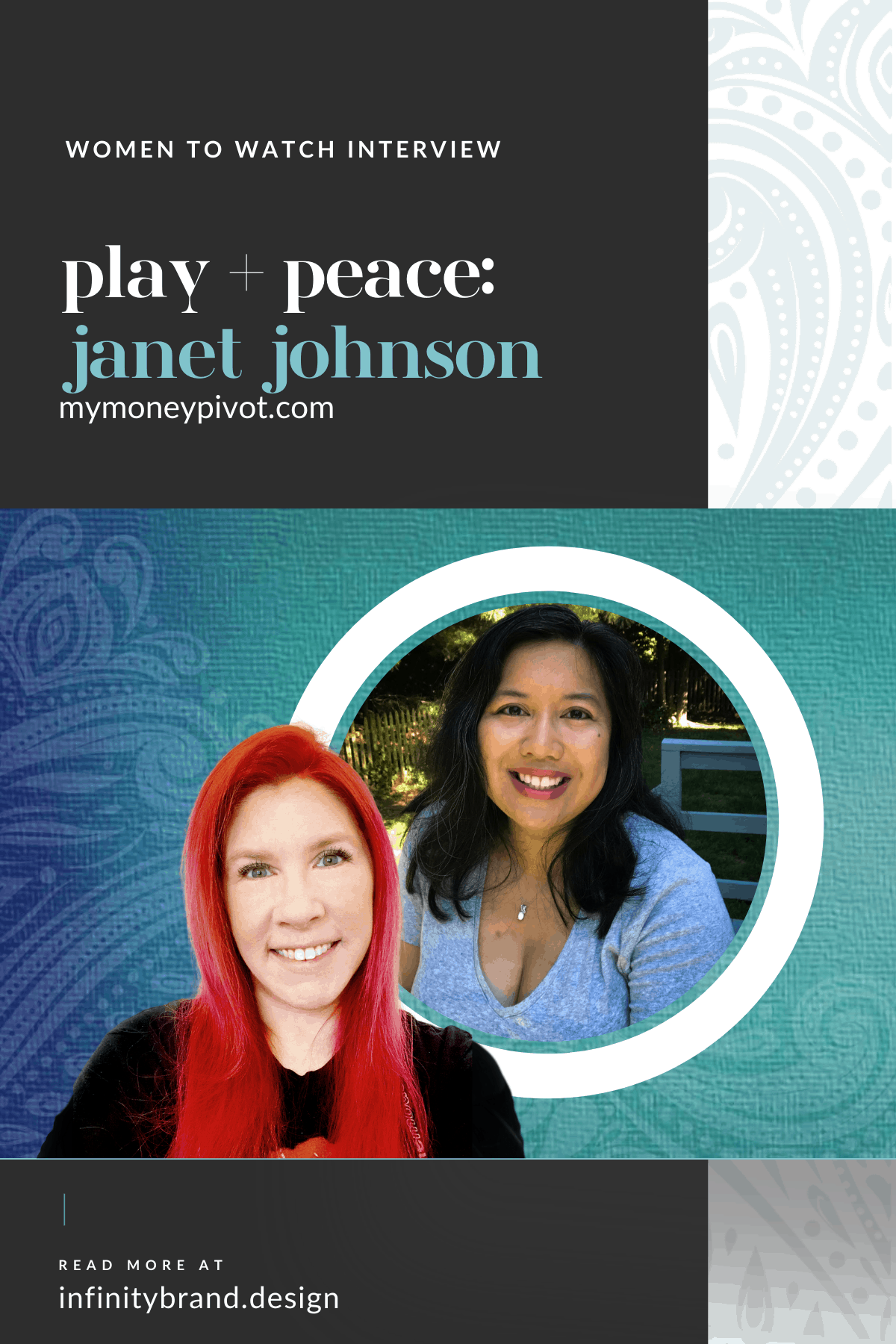 Janet leads her clients through money transformations. We discuss the importance of adding play and peace into your business as well as how that translates to showing up authentically.