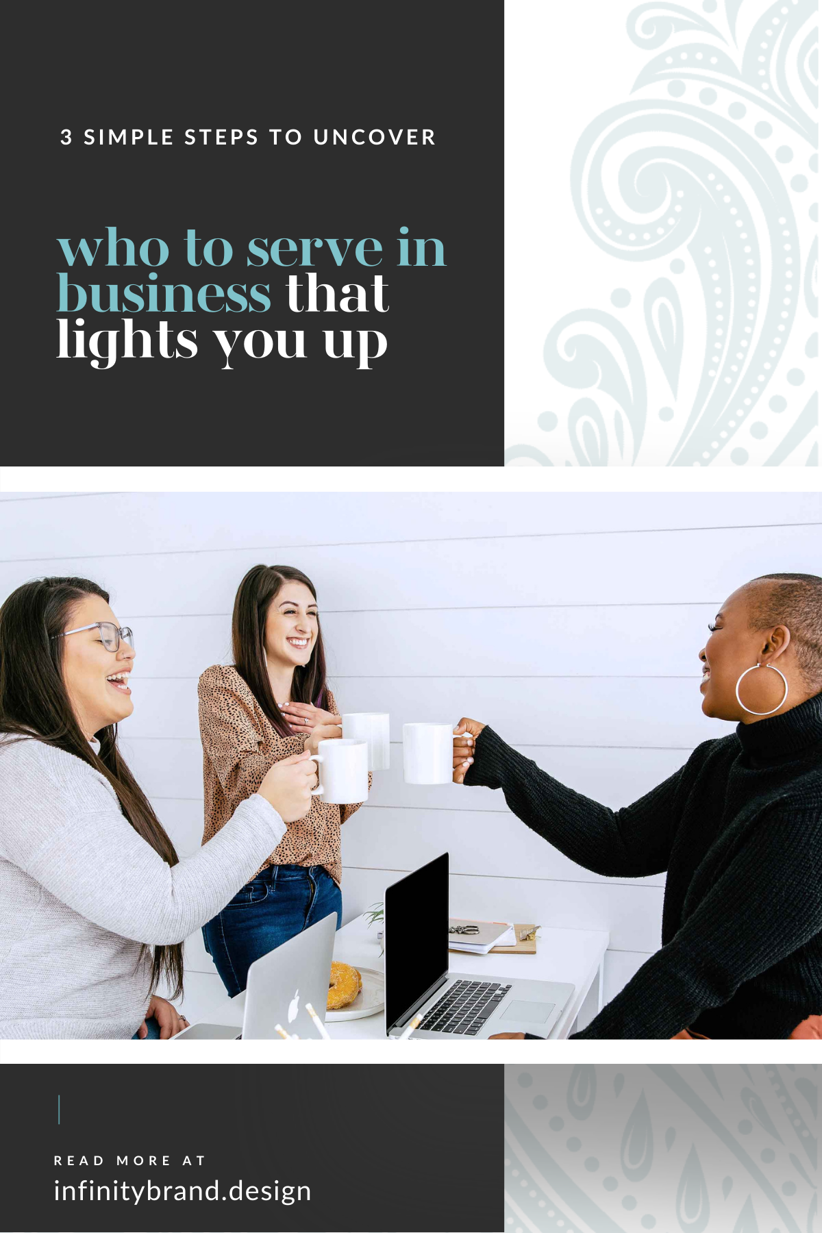 Tips to get clear on who you serve in your business that lights you up, sparks that fire within, and feels aligned with you so that waking up on Monday's is actually enjoyable.