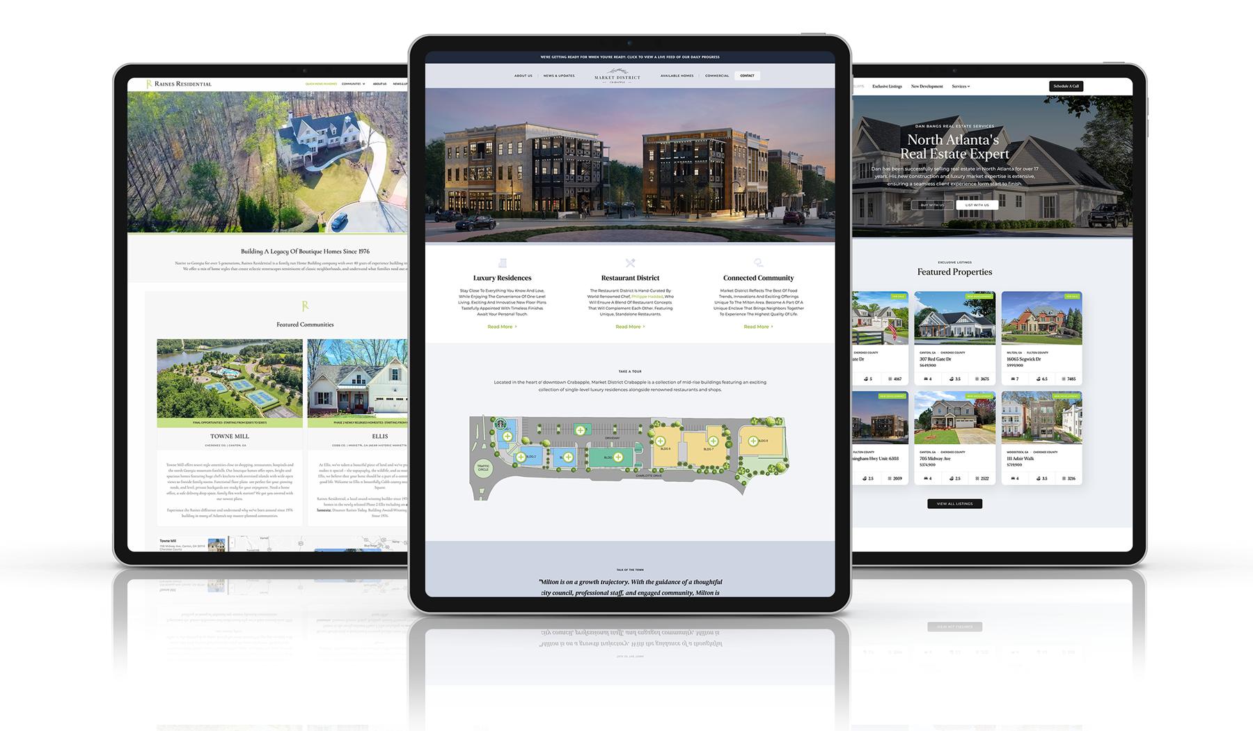 Real Estate Marketing - Web Design