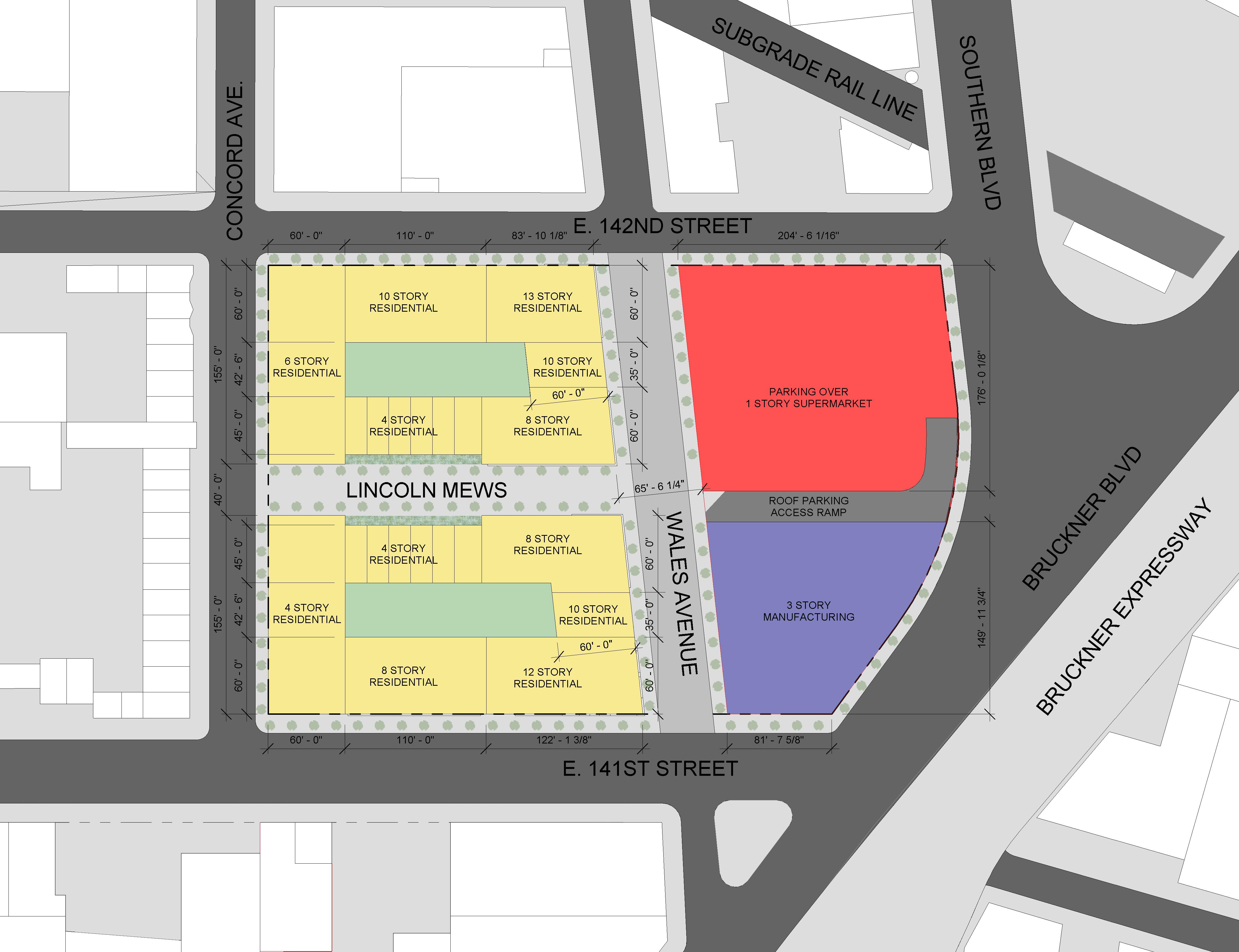 Diego Beekman Tow Pound Site Plan