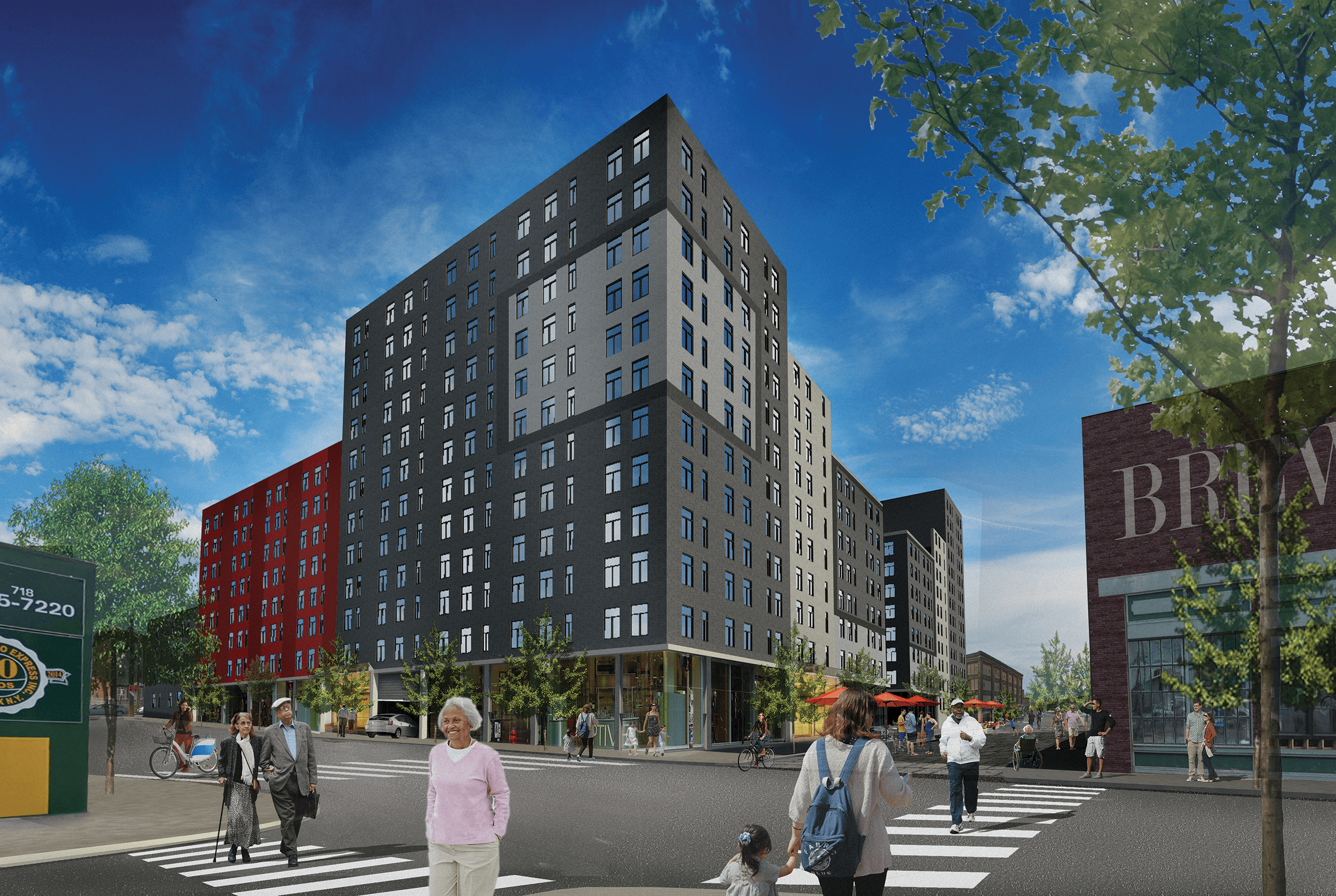 745 E 141st Street NYPD Rendering