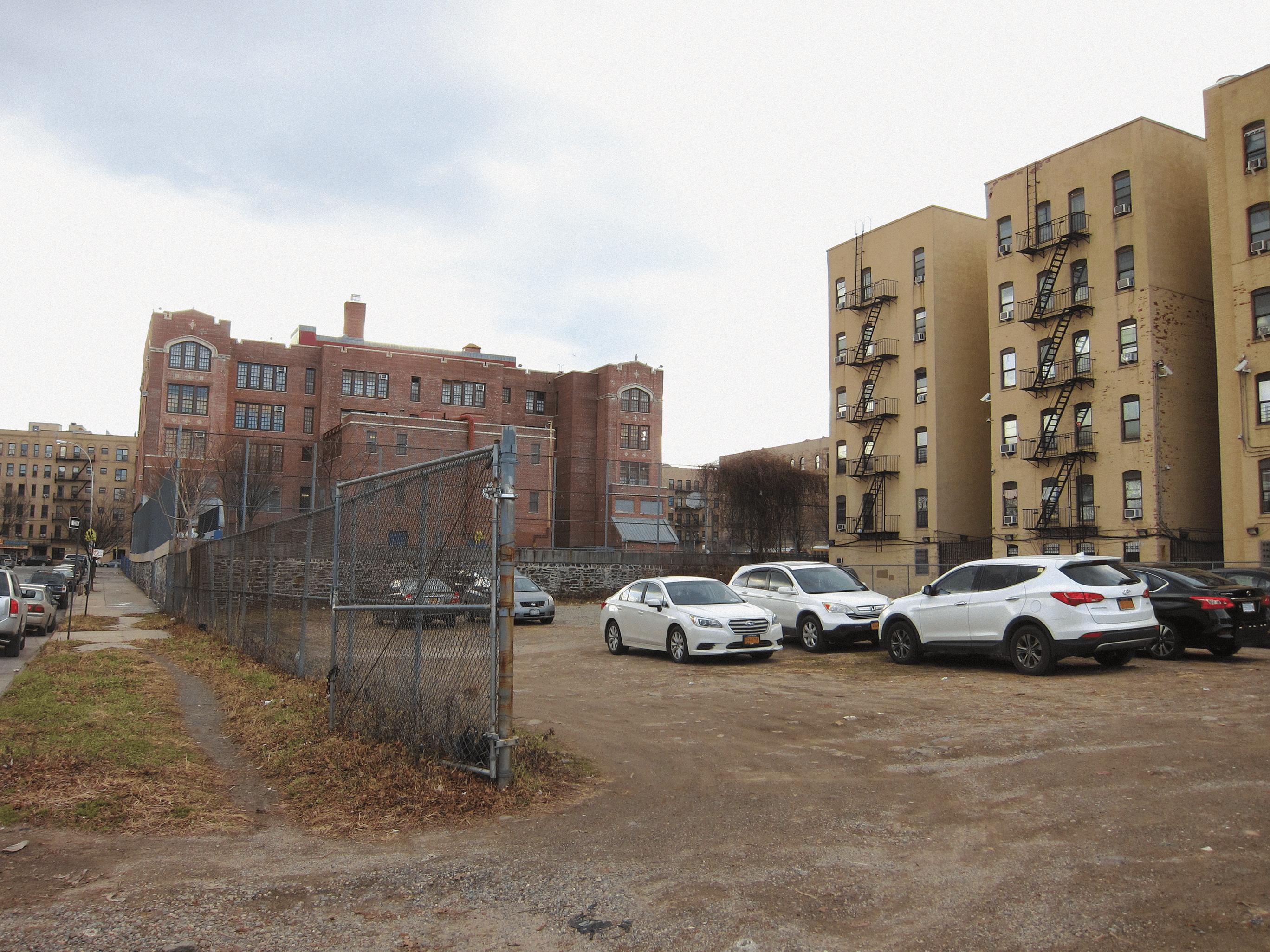 351 Powers Avenue, DOE Parking Lot