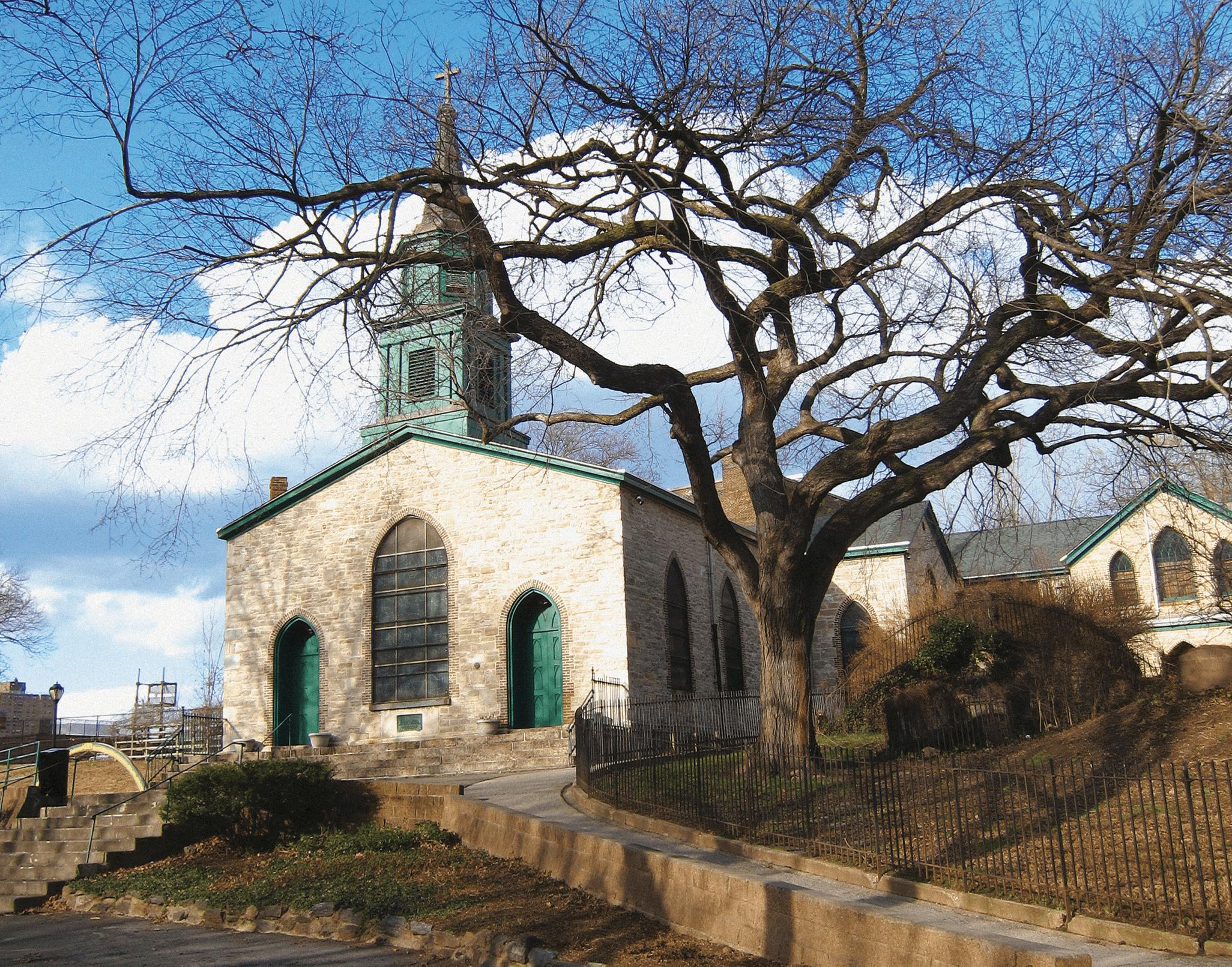 St.Ann's Church in Mott Haven Bronx