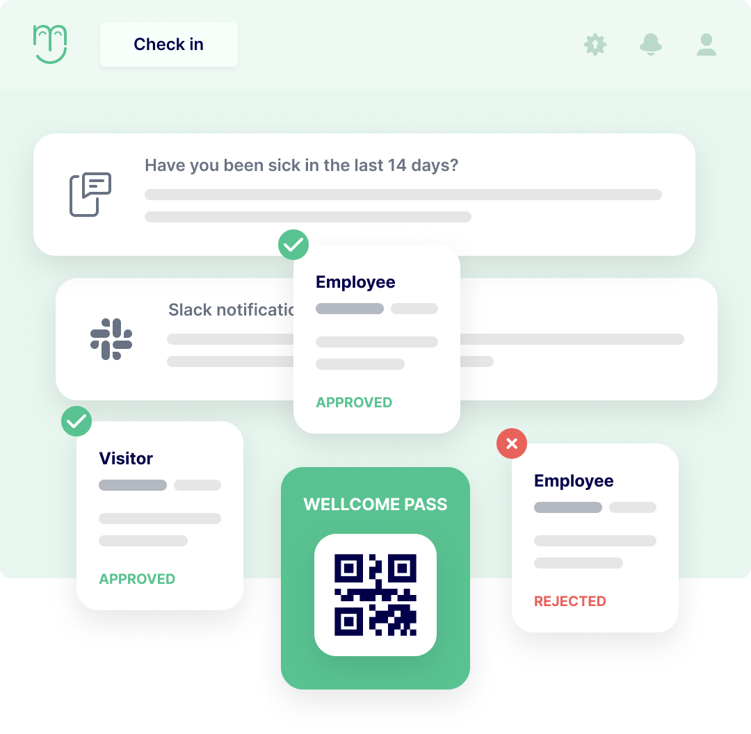 Employee check in app