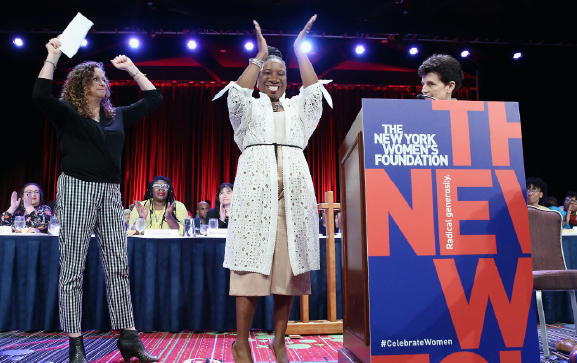 The New York Women's Foundation image from their annual breakfast