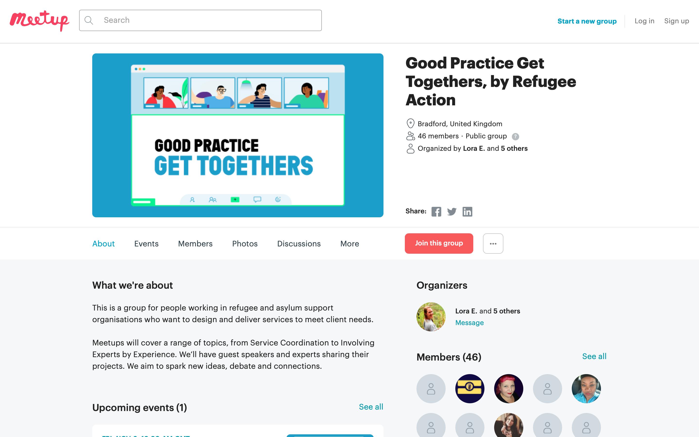 Good Practice Get Togethers